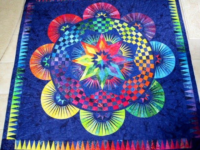 Finely Finished Quilts Connie S Circle Of Life