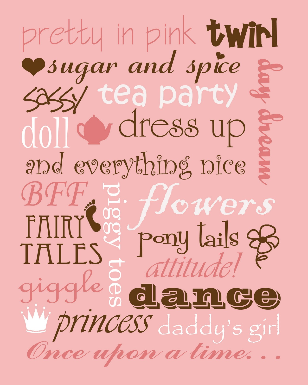 Baby Girl Daughter Quotes: Boy And Girl Printables!!!
