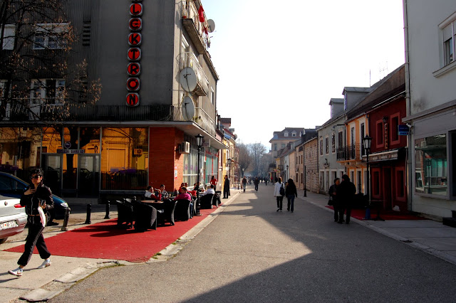 Одна из главных улиц, Цетине