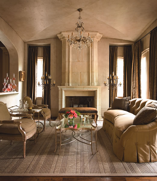 Decor World: Designing Bliss: Betty Lou Phillips: Bringing France To
