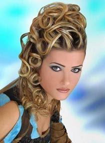 Súper fácil peinados rizados Fotos de estilo de color de pelo - Peinados de moda: Peinados Rizados