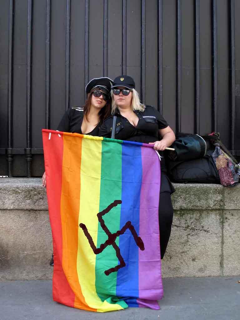 campo de tiro al blanco homosexual