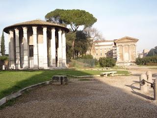 boario - Templo de Hercules, Foro Boario