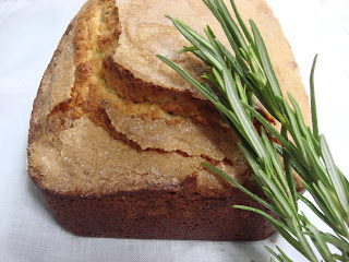 Lemon Rosemary Loaf Cake