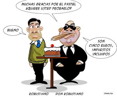 El pastel del dinero público para los bancos