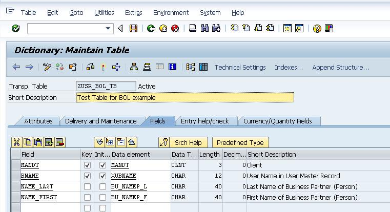 SAP ABAP Development SAP CRM How to Create your own BOL Object for