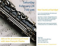 sept clarinettes recital Bayridge flyer