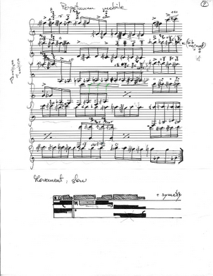 Perpetuum mobile clarinet solo page 2