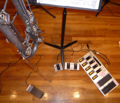 electroclarinet 2 set-up