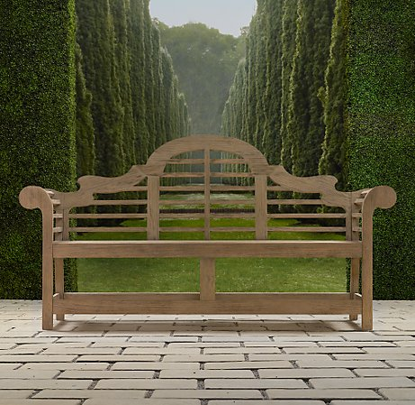 Acanthus And Acorn Lutyens Bench