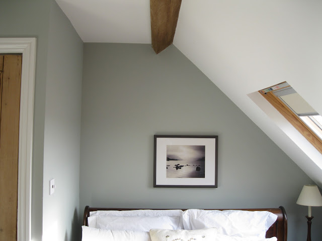 Can you ever go wrong with white bed linen in a Modern Country Attic Bedroom?