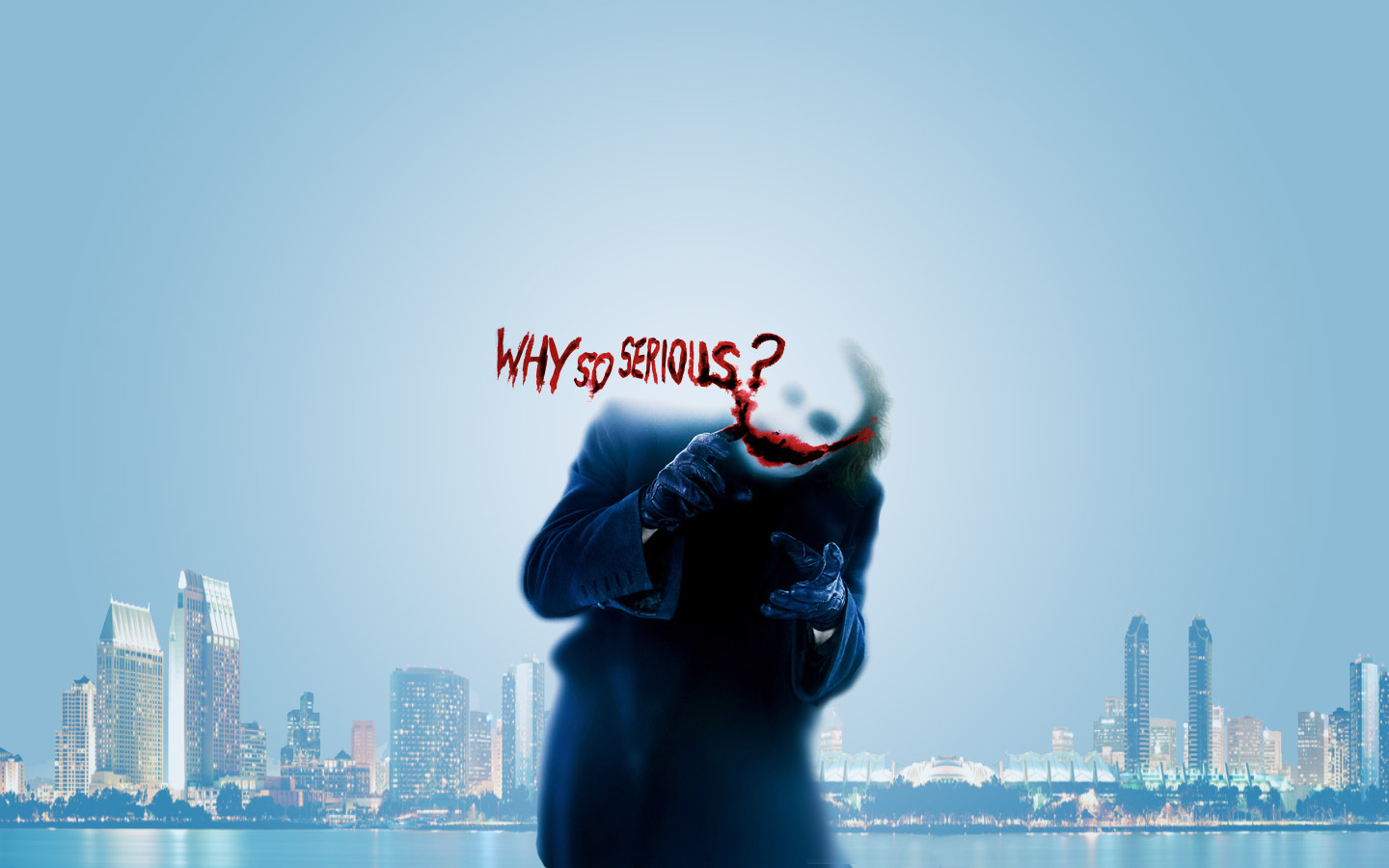 Why So Serious Hd Wallpaper