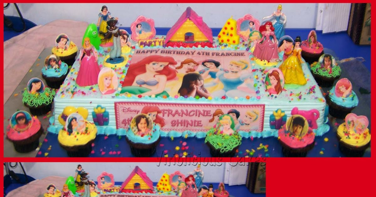 Belle Edible Cake Decorations