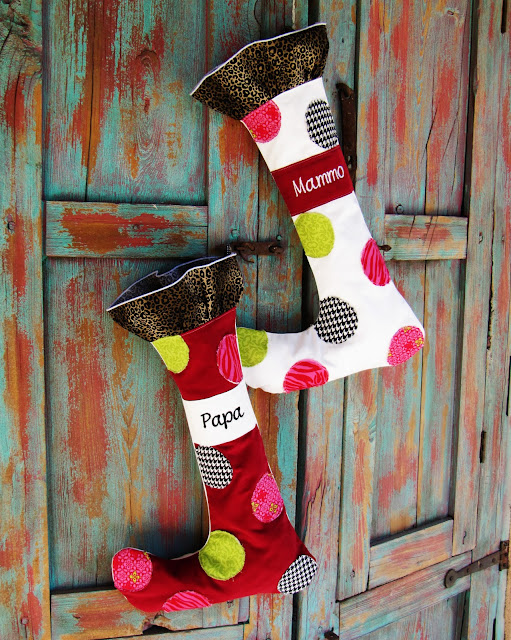 I Based These Guys On This Set Of Stockings Available From Ballard Designs Being The Frugal Girl Am Couldnt Help But Scoff At 35 Price Tag