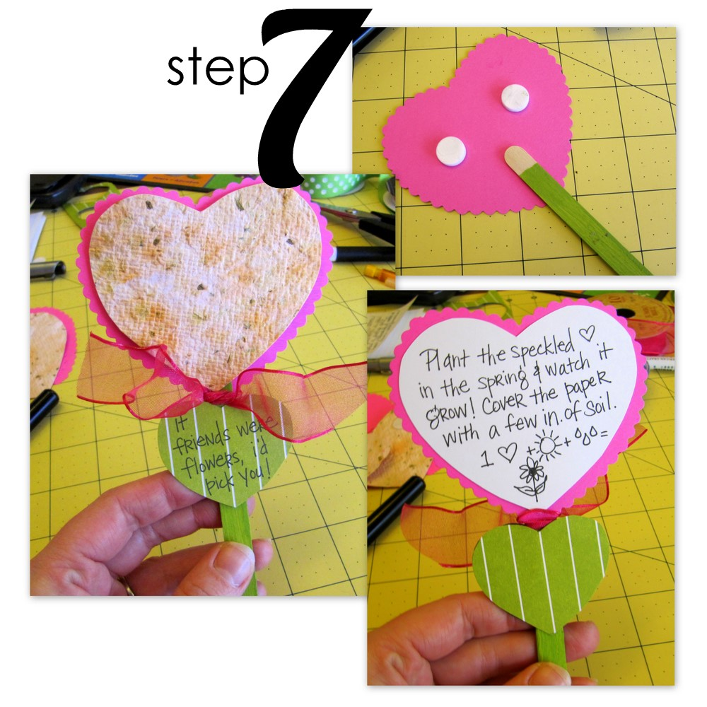 how to make seed paper hearts