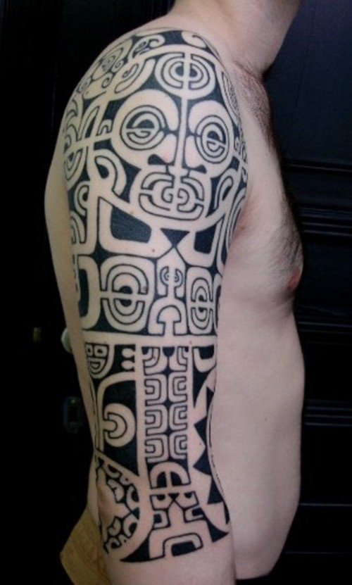 Small Maori Tattoos For Men