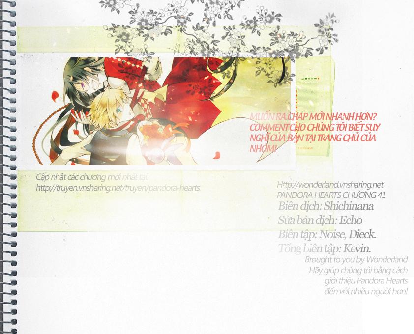 Pandora Hearts chương 041 - retrace: xli where am i?! trang 1
