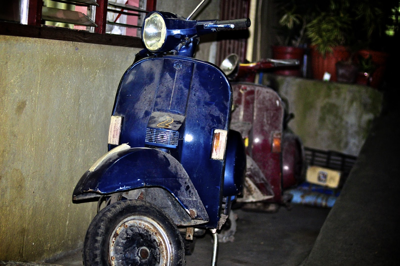 Large Frame Vespa For Sale