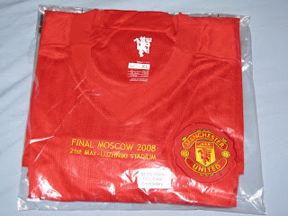 The Football Kit Room: Manchester United 2008 Champions