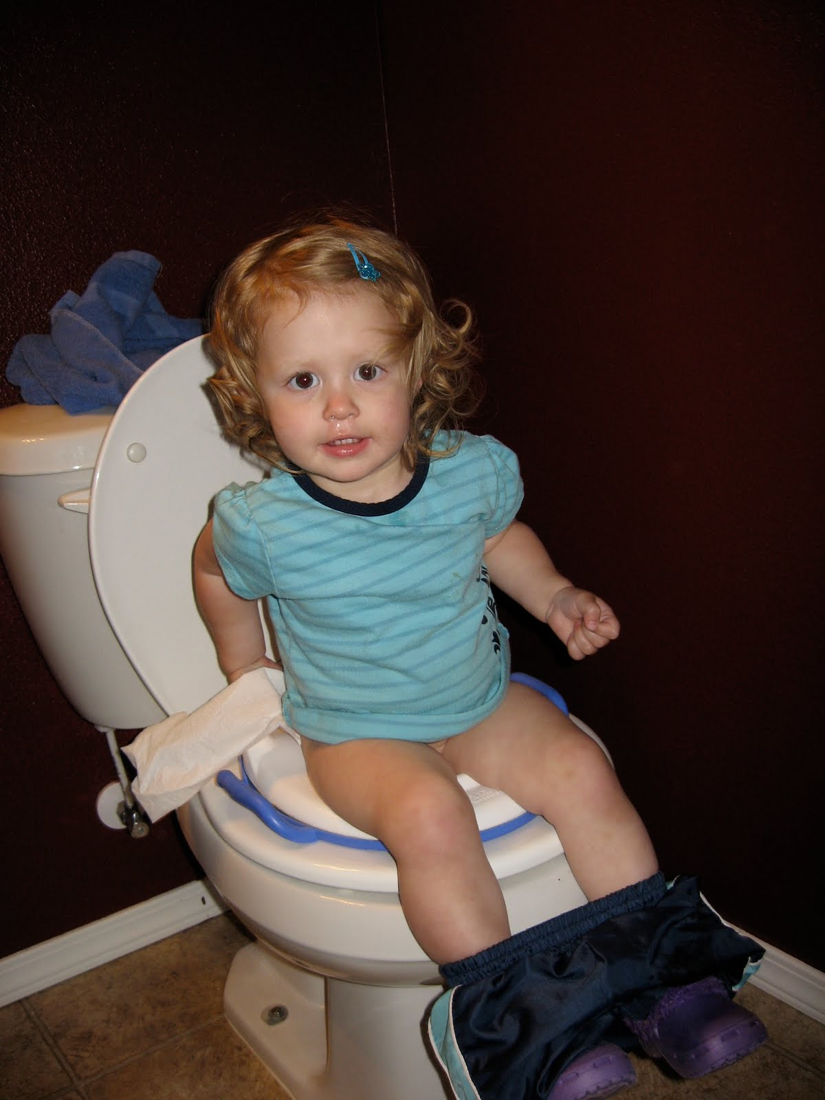 Our Family: Morning Potty Fun