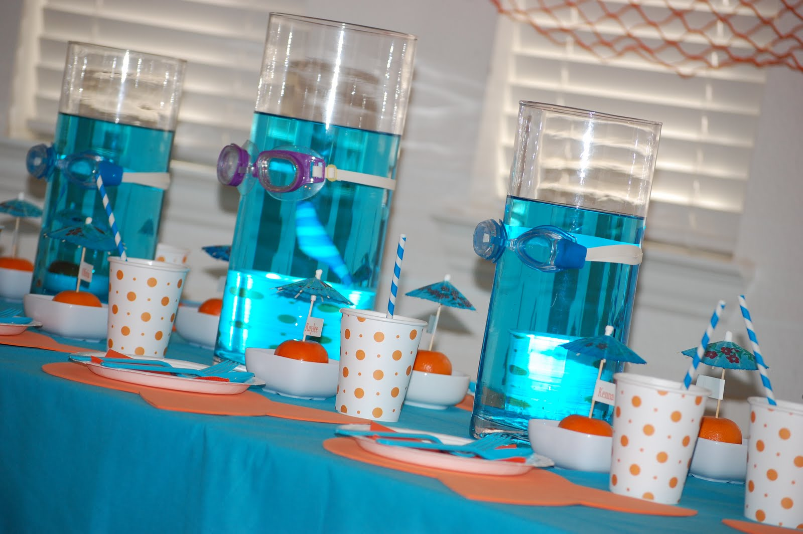 *Party Accessories*: Goldfish party ideas