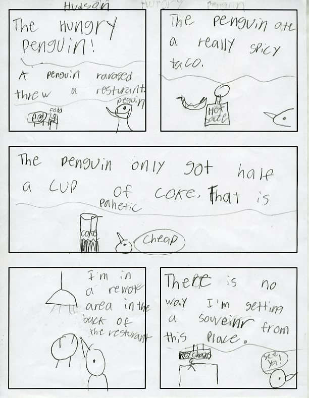Witty Title Coming Soon: 6th Grade Vocabulary Comics