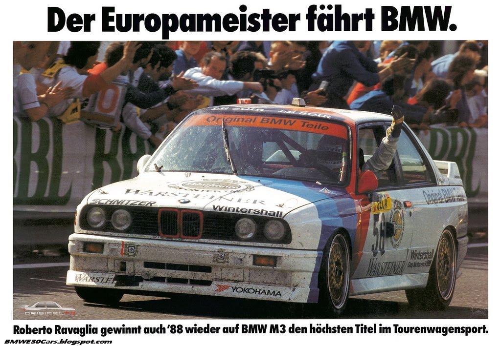 80s Bmw E30 Dtm Posters 6speedonline Porsche Forum And