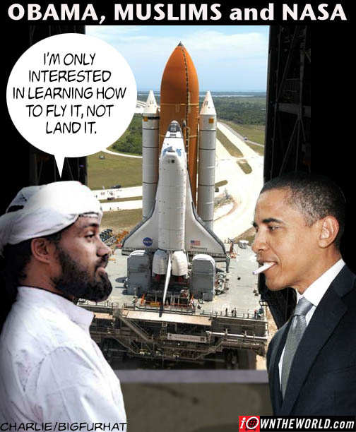 Poster Of The Day: Obama, Muslims and NASA - Common Sense ...
