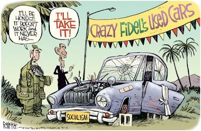 Image result for obama castro cartoons