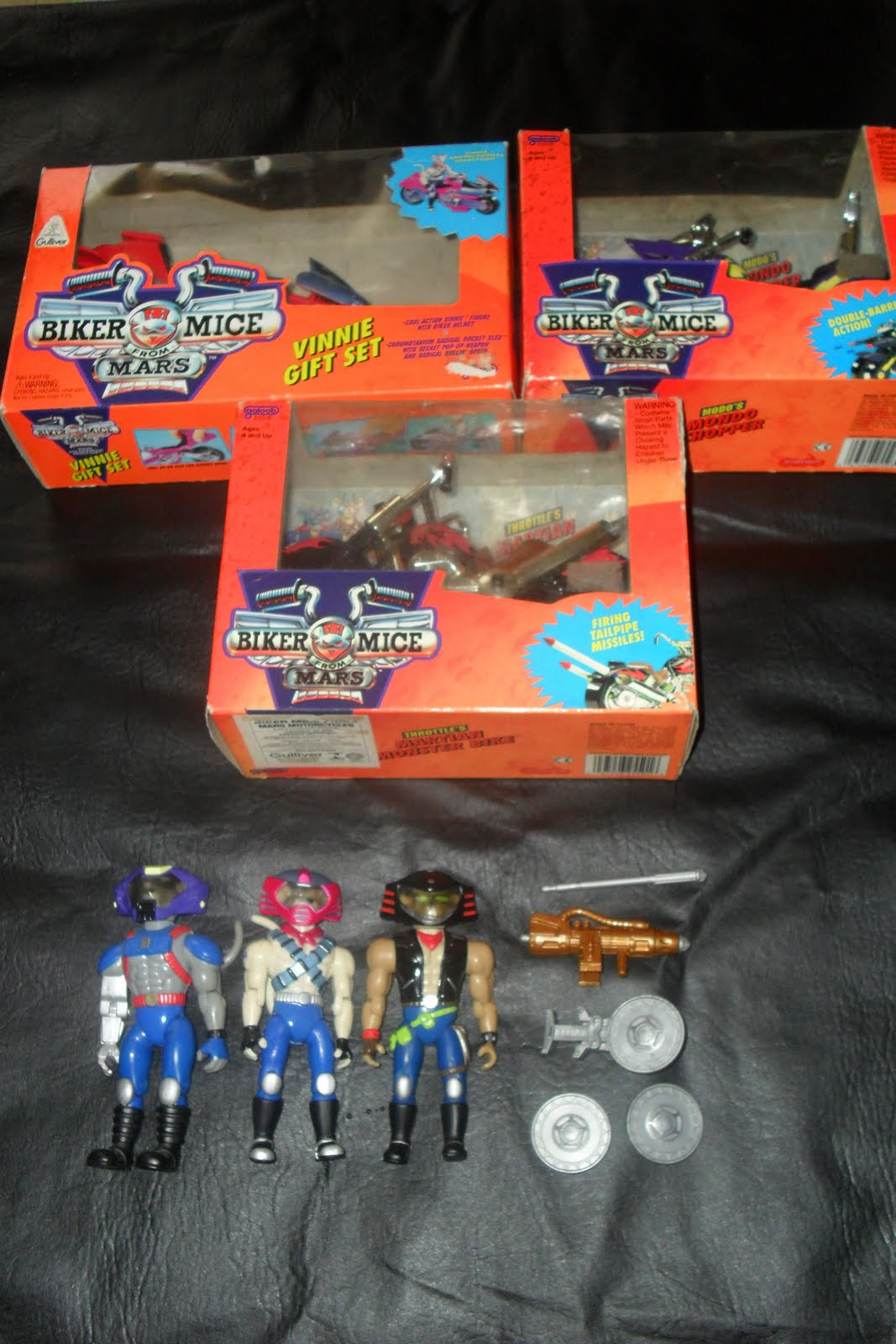 GuarDianS Toy180s Set Esquadrao Marte quotBiker Mice From