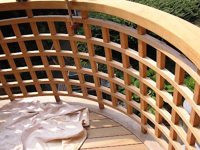 City Beautiful Carpentry Custom Lattice Teak Railing