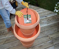 DIY garden water fountain