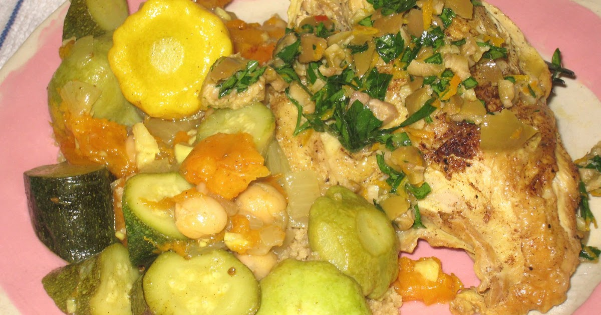 Cooking Without A Net Braised Chicken With Summer Squash And Apricots