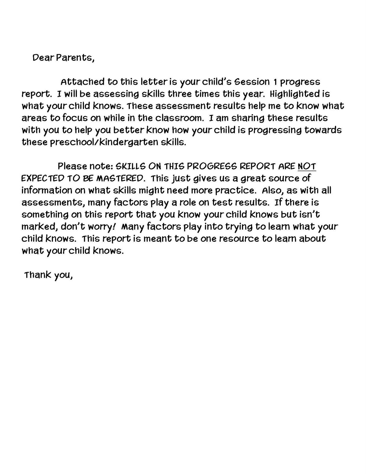 Me Amp Marie Preschool Assessments