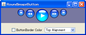 how to create button in java