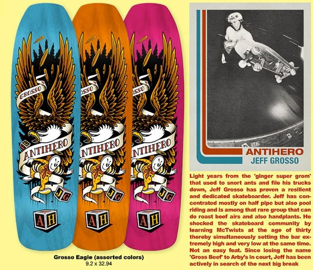 2.03.2011. Just in time for Jeff Grosso s new ANti Hero deck and Vans  Legend Pack ... 9963b87a2