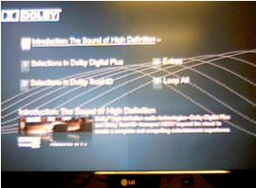 Mitad de la pantalla mas tenue en televisores LCD.