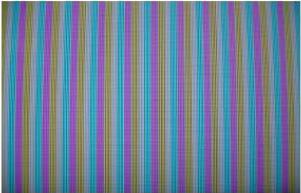 Patrón de barras en toda la pantalla del televisor LCD.