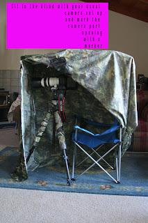 ameristep chair blind zebra high chris the photog aka diy cheapo depot: