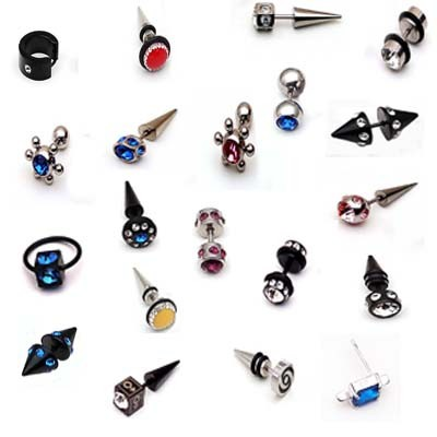 Ear Rings Fashion In men