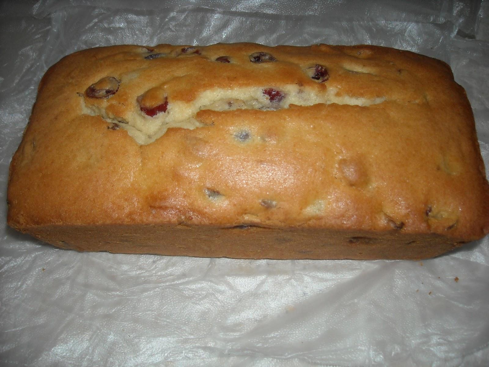 Hello Dollies Bakery Cranberry Walnut Sour Cream Pound Cake
