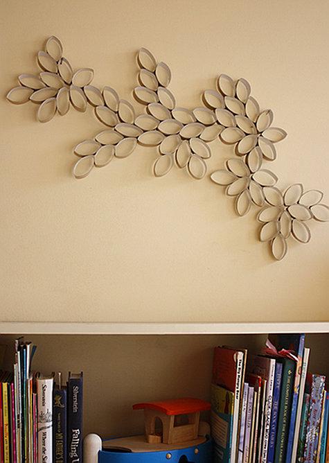 Inspirations Amp Decorations Diy 1 Toilet Paper Roll Artwork