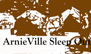 ArnieVille Sleep Out poster