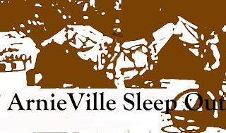 ArnieVille Sleep Out poster