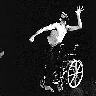 Image of Neil Marcus dancing