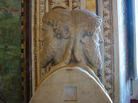 Janus (or Ianus), the Roman god of gates, doorways, beginnings and endings