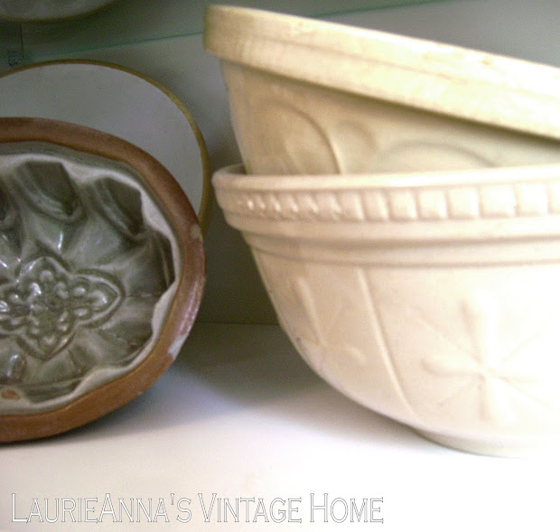 Laurieanna' Vintage Home Mixing Bowls And Butter