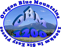Oregon Blue Mountains In Six Easy Pieces Logo