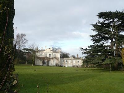 The impressive Theberton House