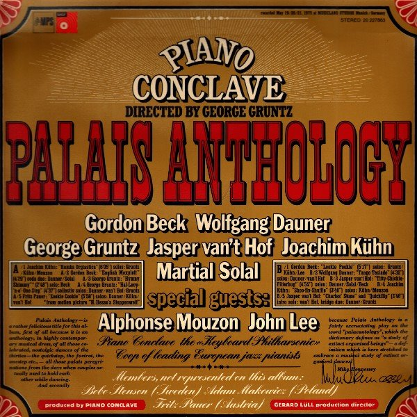 George Gruntz Piano Conclave - Palais Anthology (MPS 1975)